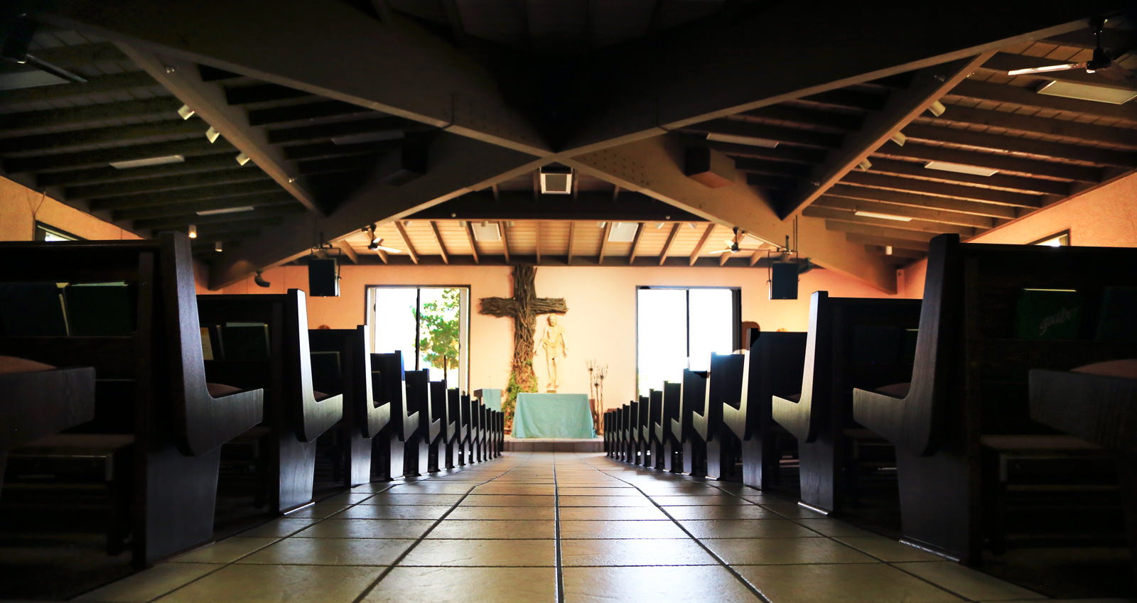 Sanctuary at St. John Vianney